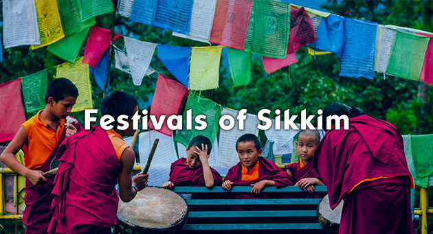 Be spirited away in the festivities of Sikkim