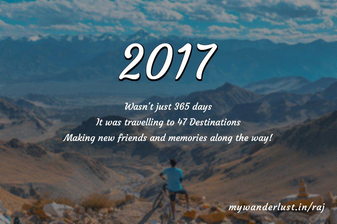 raj's year in travel