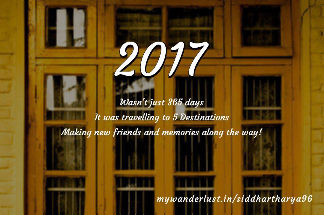 siddhartharya96's year in travel