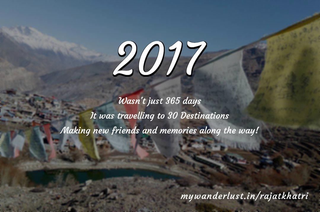 rajatkhatri's year in travel