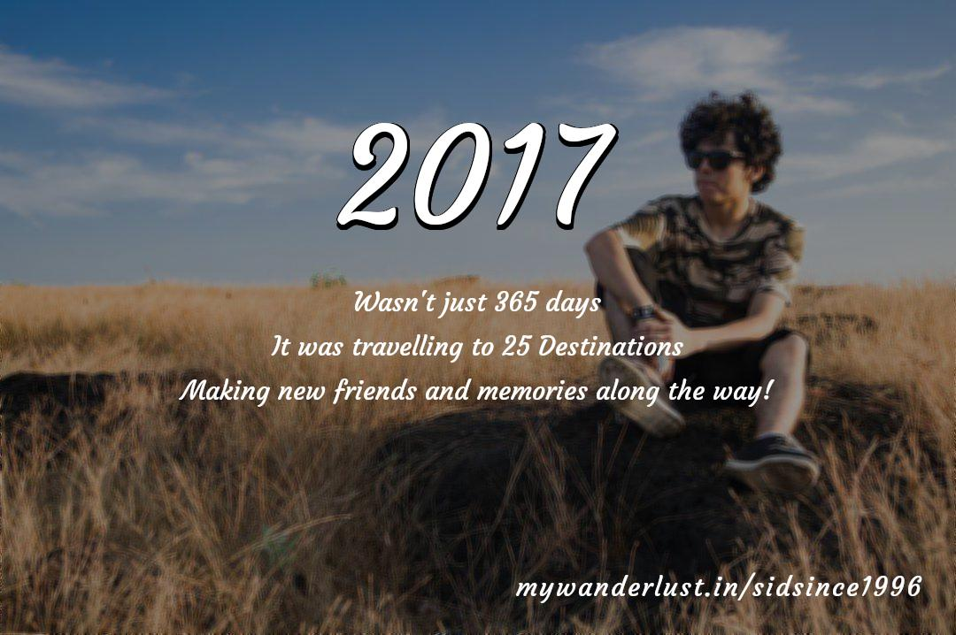 sidsince1996's year in travel