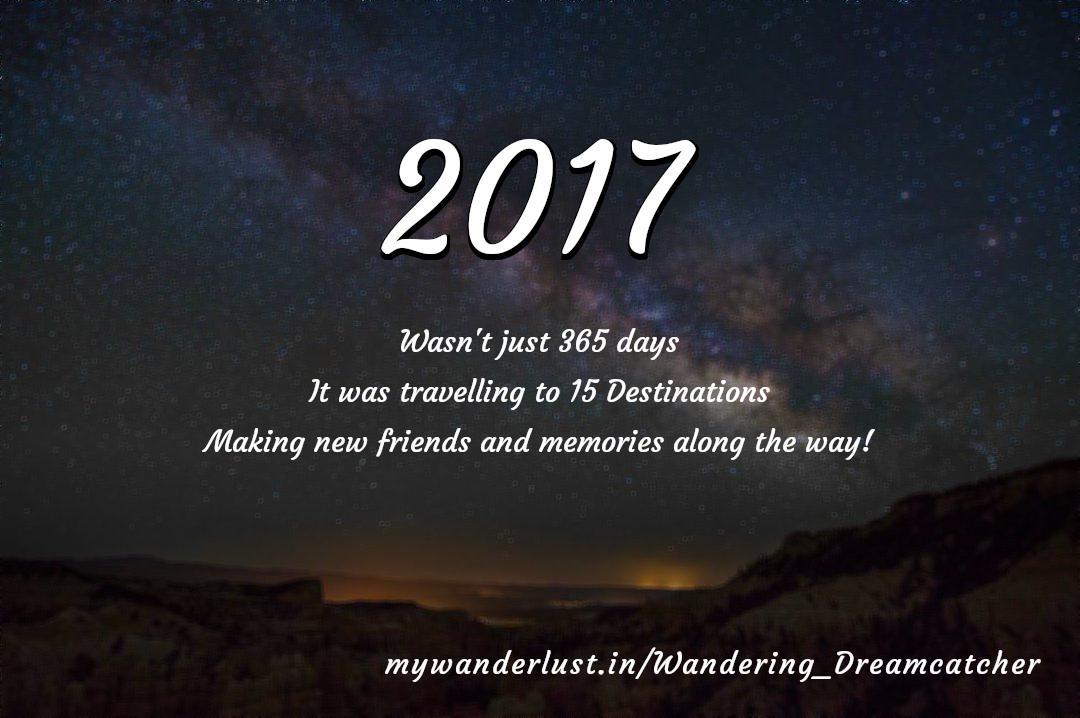 Wandering_Dreamcatcher's year in travel