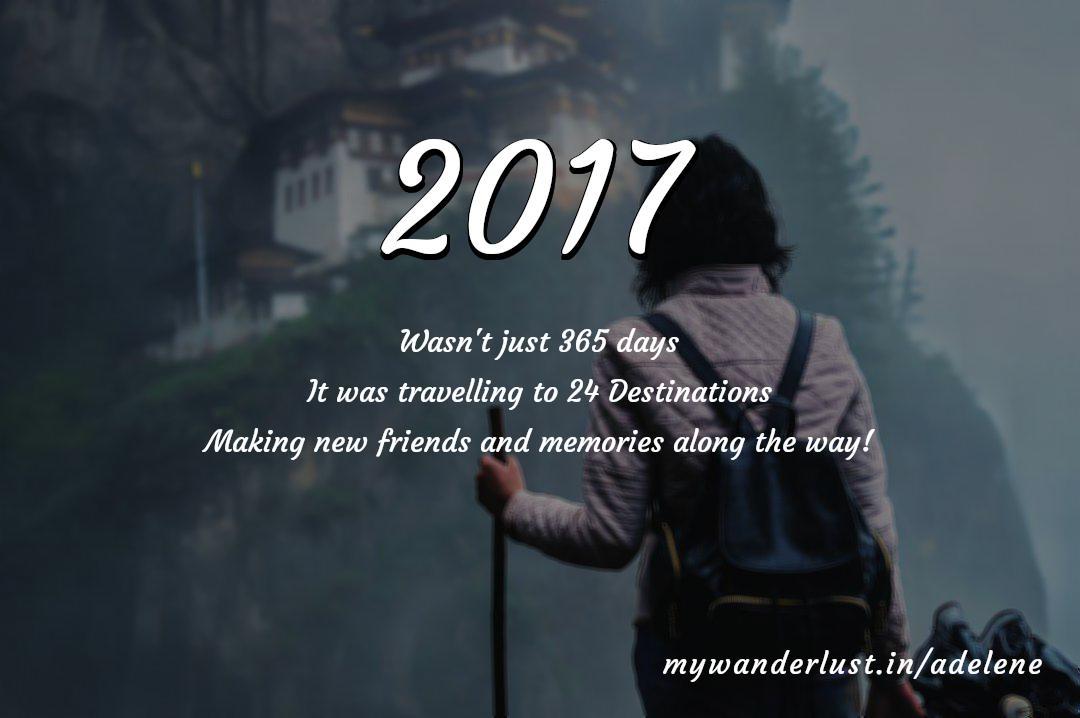 adelene's year in travel