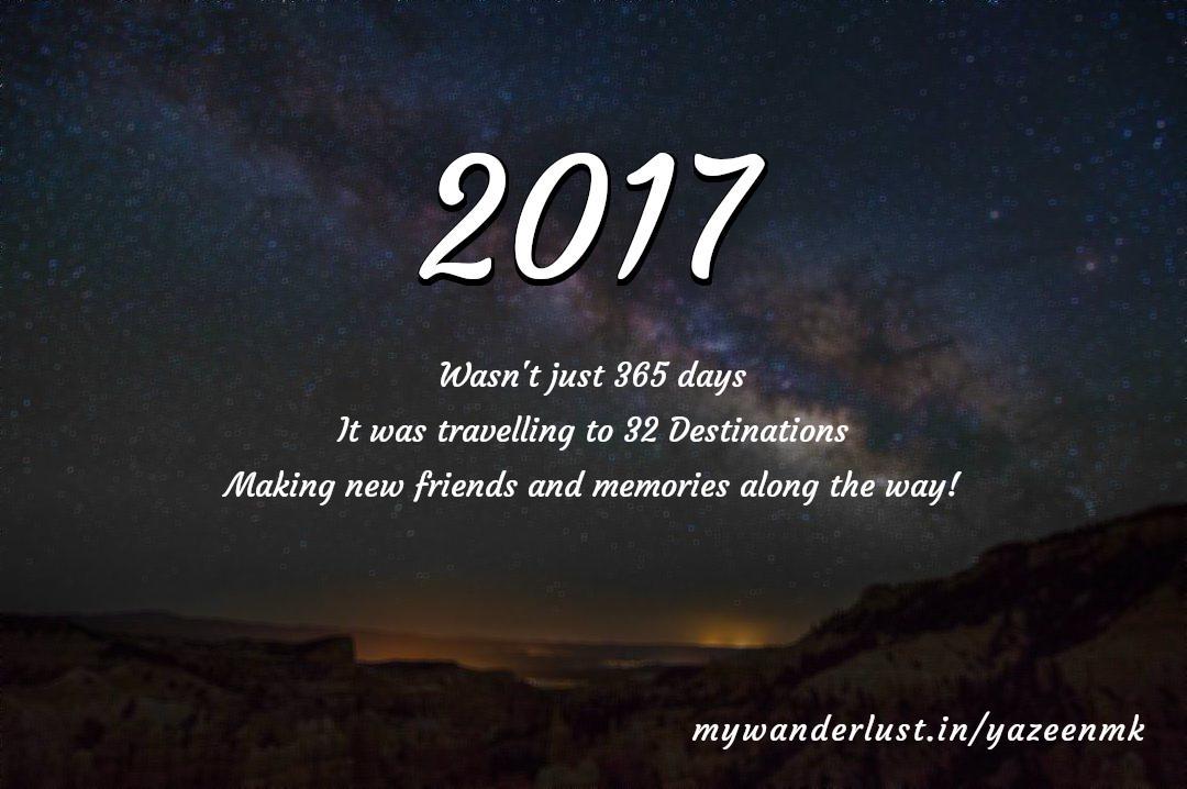 yazeenmk's year in travel