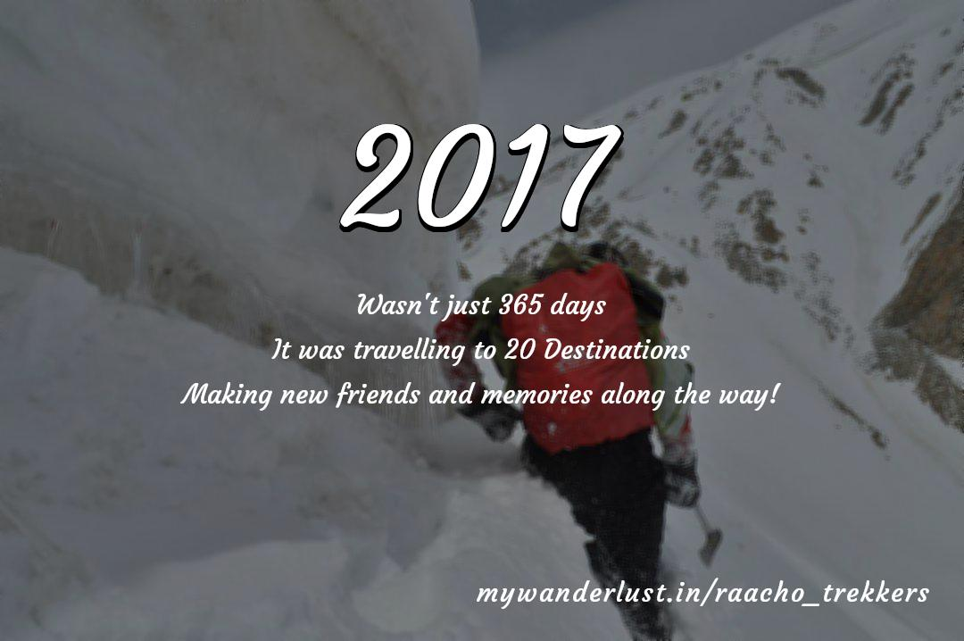 raacho_trekkers's year in travel