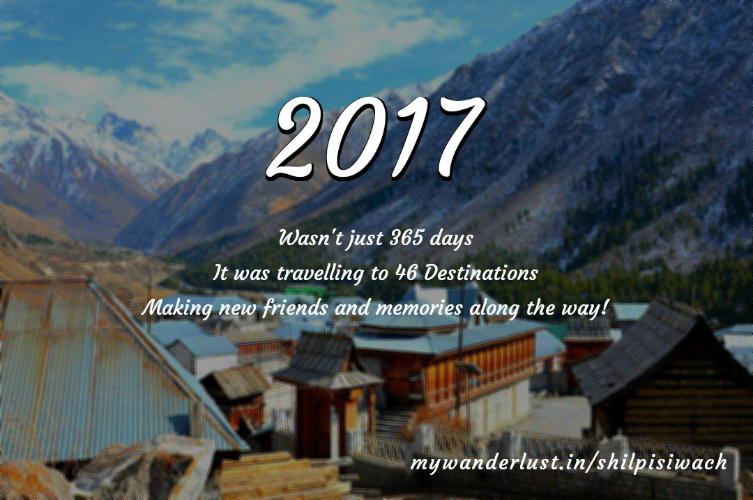 shilpisiwach's year in travel