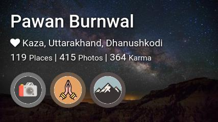 Pawan Burnwal's traveler profile on MyWanderlust.in